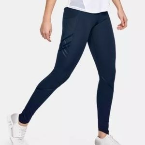 NWT XS Navy Blue Under Armour Leggings.